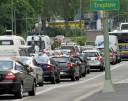 Der Liste der negativen Auswirkungen von Verkehrslärm auf die Gesundheit des...